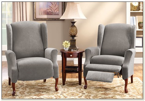 Slipcover For Wingback Chair Recliner