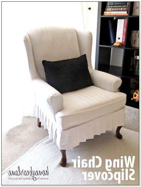 Slipcover For Wingback Chairs