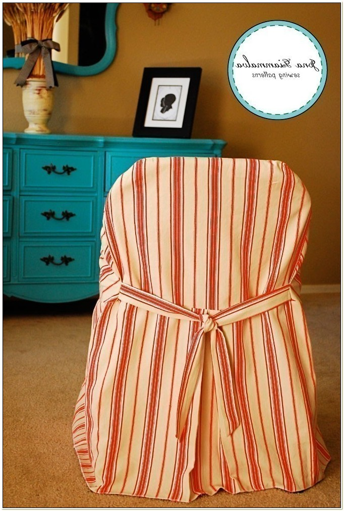 Slipcovers For Folding Chairs Pattern
