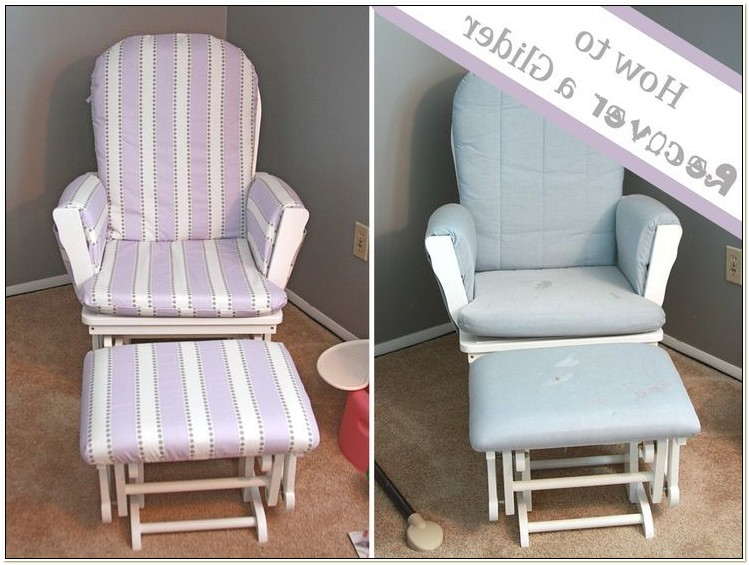 Slipcovers For Glider Rocking Chair Cushions