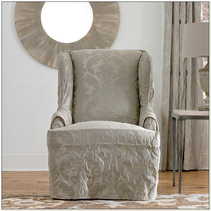 Slipcovers For High Back Chairs