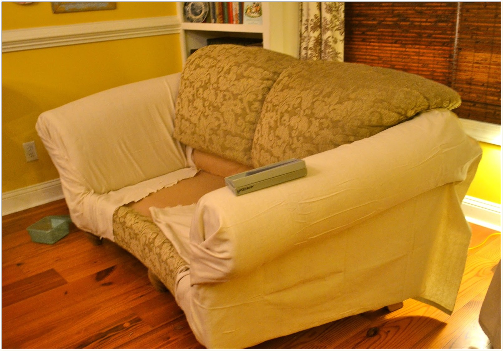 Slipcovers For Sofas With No Arms