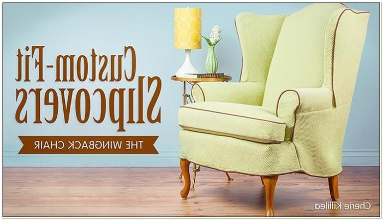 Slipcovers For Wing Chairs