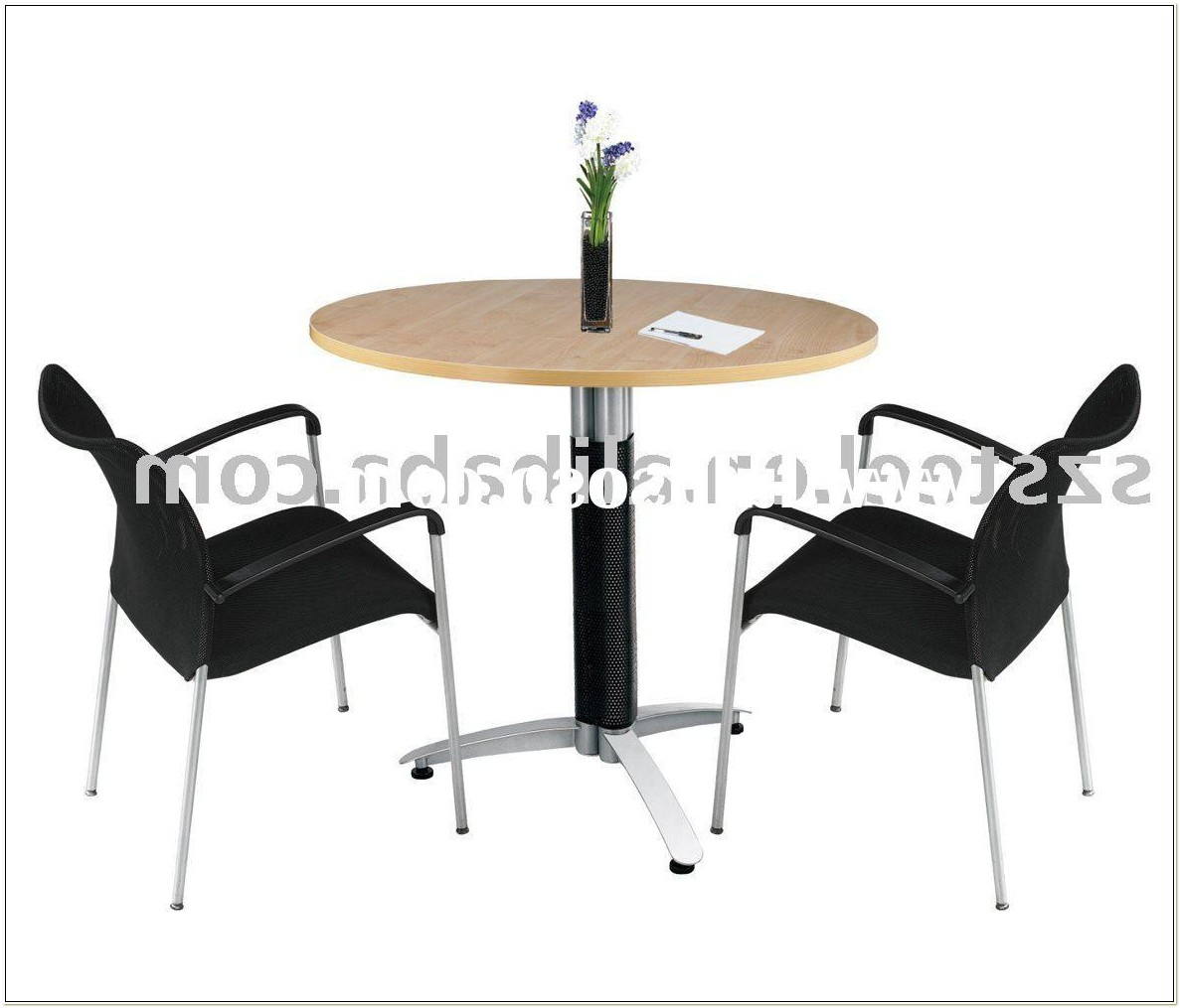 Small Round Meeting Table And Chairs