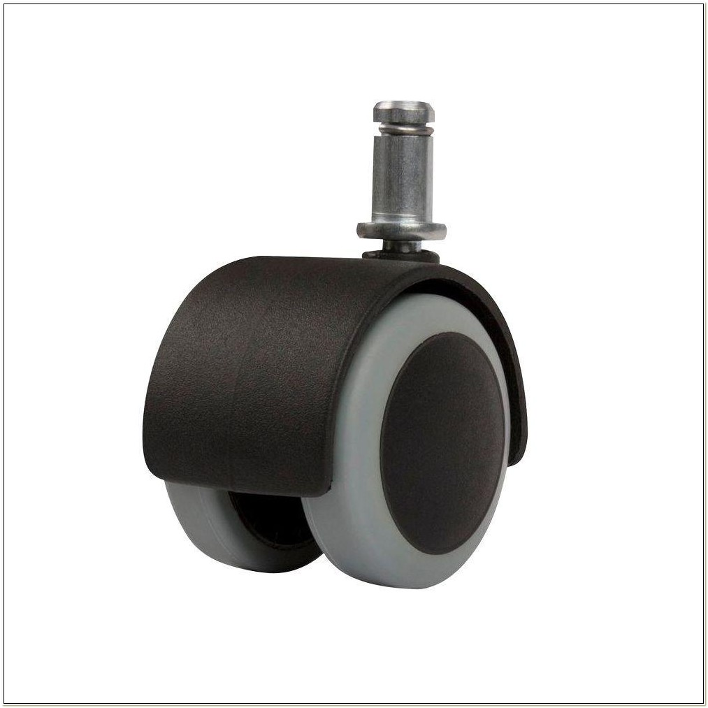 Soft Rubber Office Chair Casters