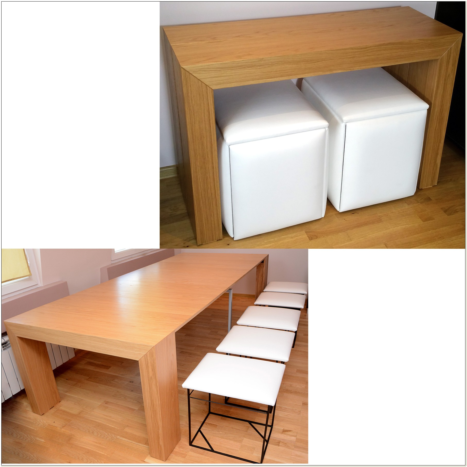 Space Saving Table And Chairs Set