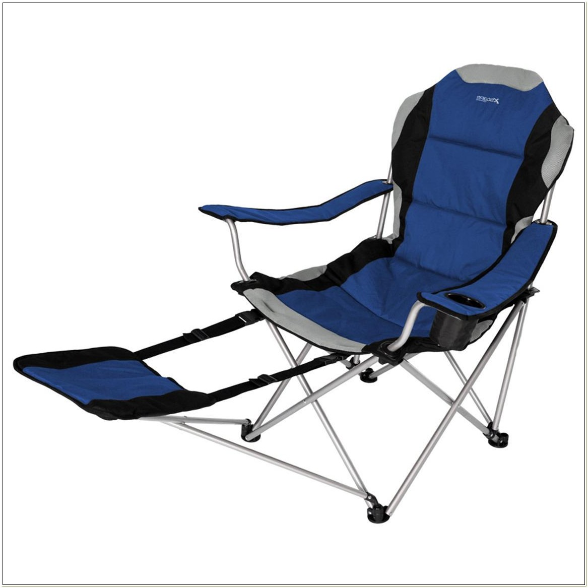 Sportline Quad Fold Reclining Chair With Footrest