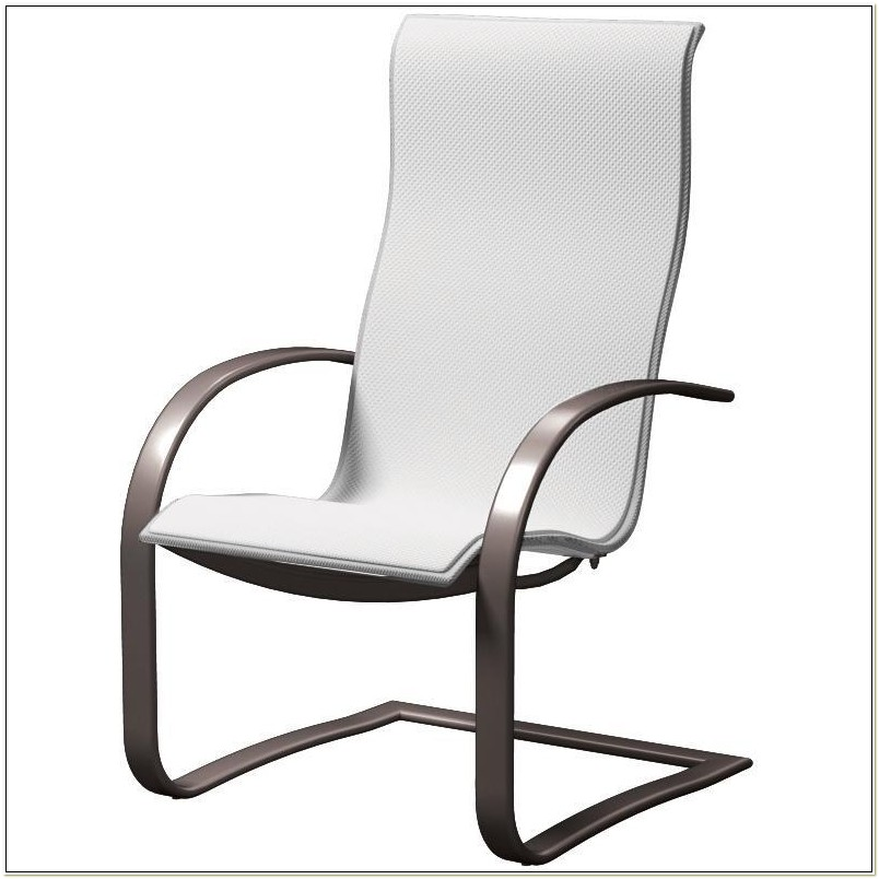 Spring Sling Patio Chairs