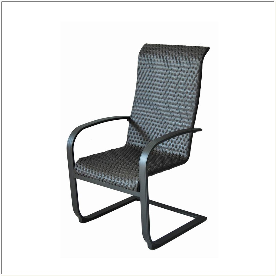 Spring Steel Patio Chairs
