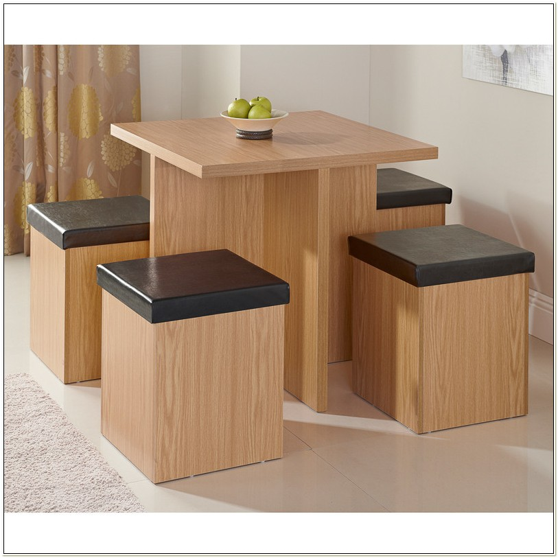 Square Hideaway Dining Table And Chairs