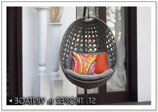 St Tropez Hanging Chair Vintage
