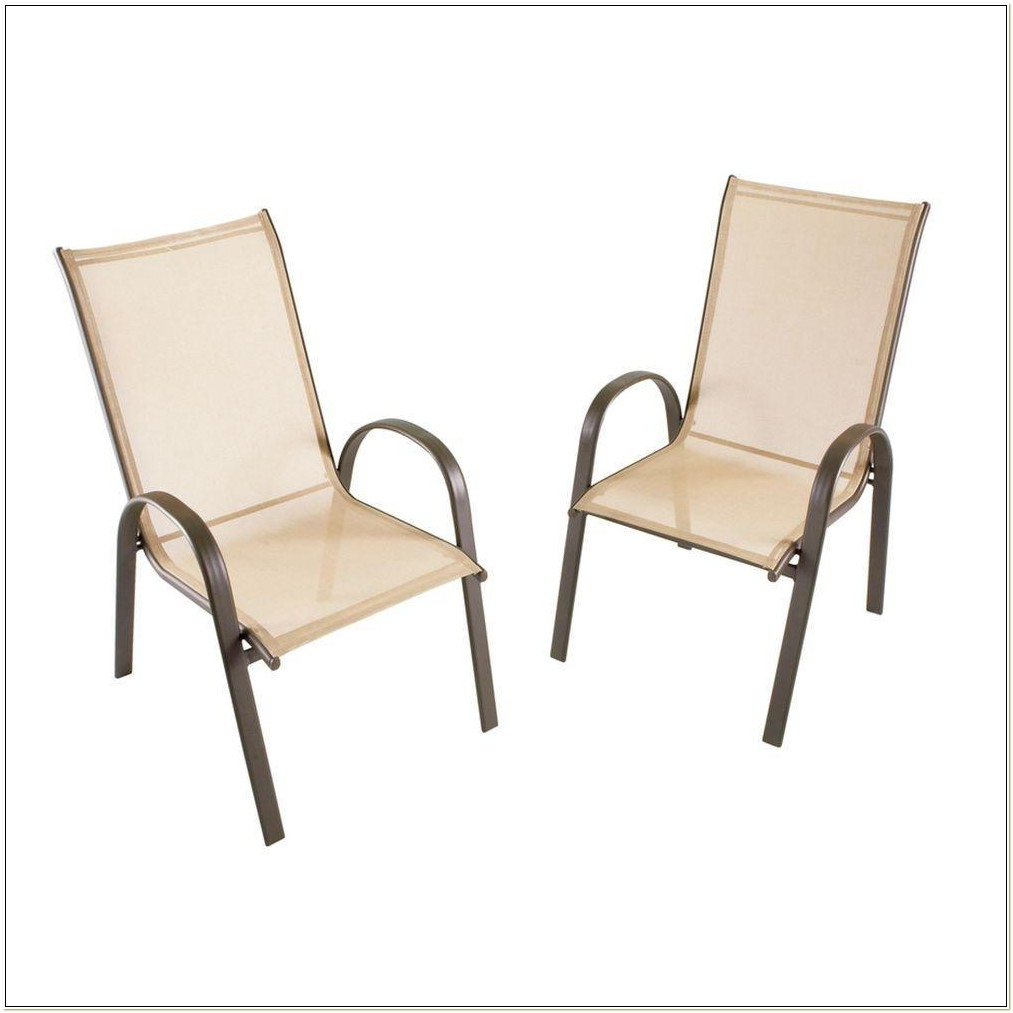 Stack Collection Patio Sling Chair 4 Pack
