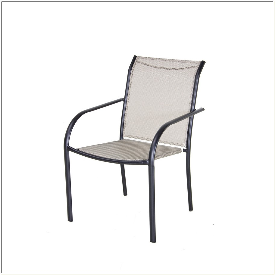 Stacking Steel Sling Patio Chair