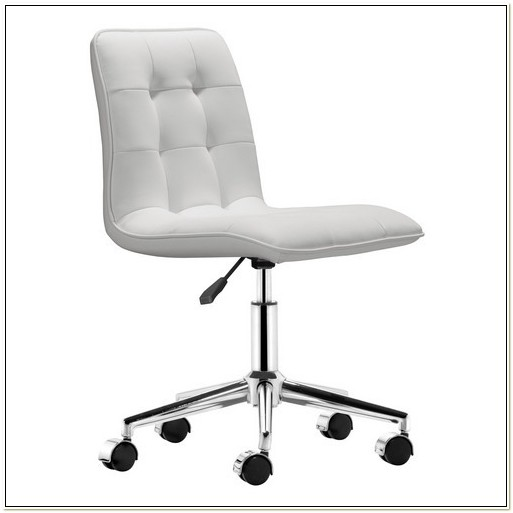 Staples White Office Chair