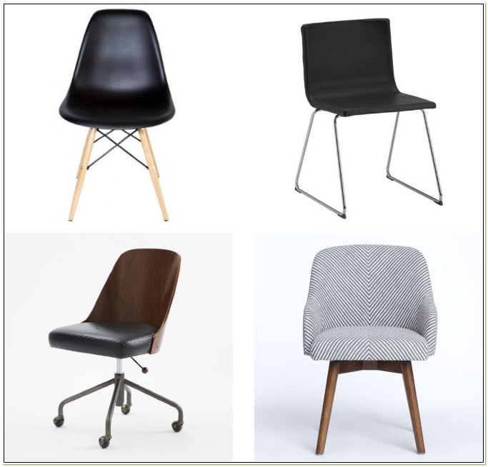 Stationary Swivel Desk Chair