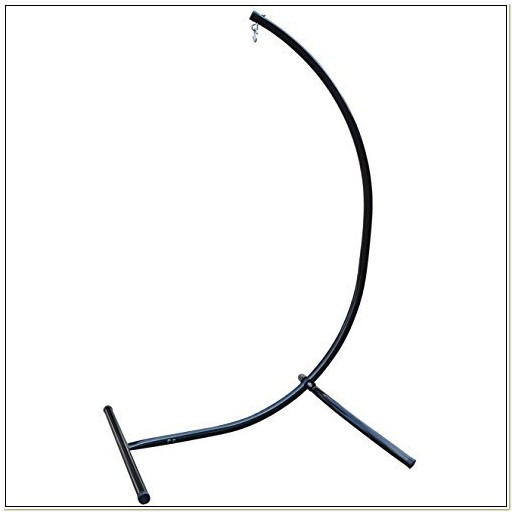 Steel C Frame Hammock Air Chair Stand