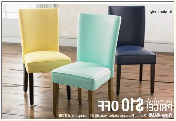 Stein Mart Parsons Chairs