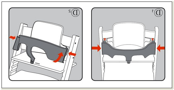 Stokke High Chair Baby Seat Instructions