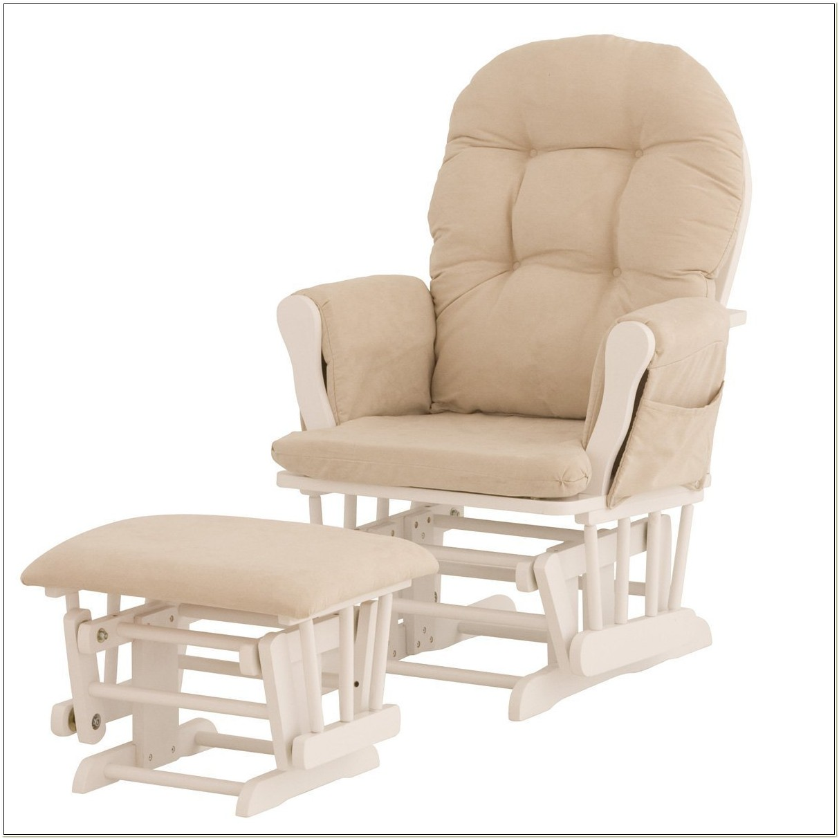 Stork Craft Rocking Chair And Ottoman