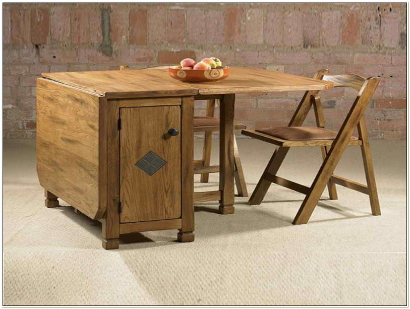 Stowaway Folding Dining Table And Chairs