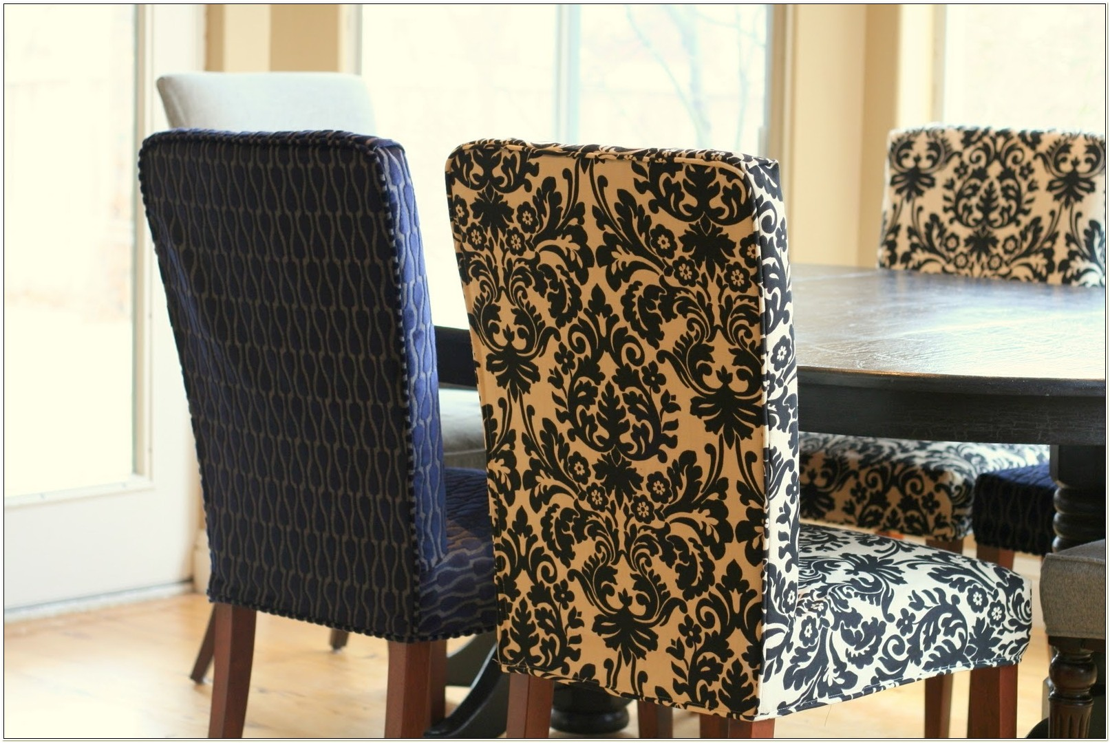 Stretch Dining Room Chair Seat Covers Uk