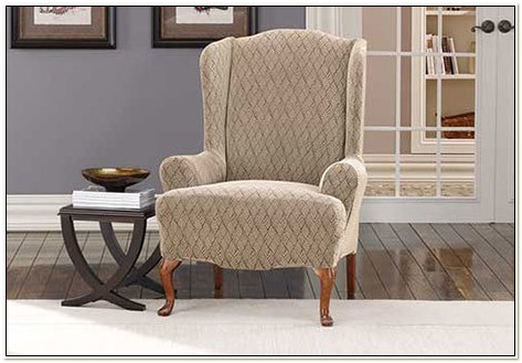 Stretch Ironworks Wing Chair Slipcover