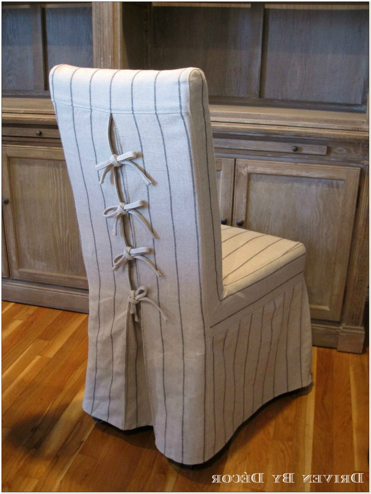 Striped Dining Chair Slipcovers