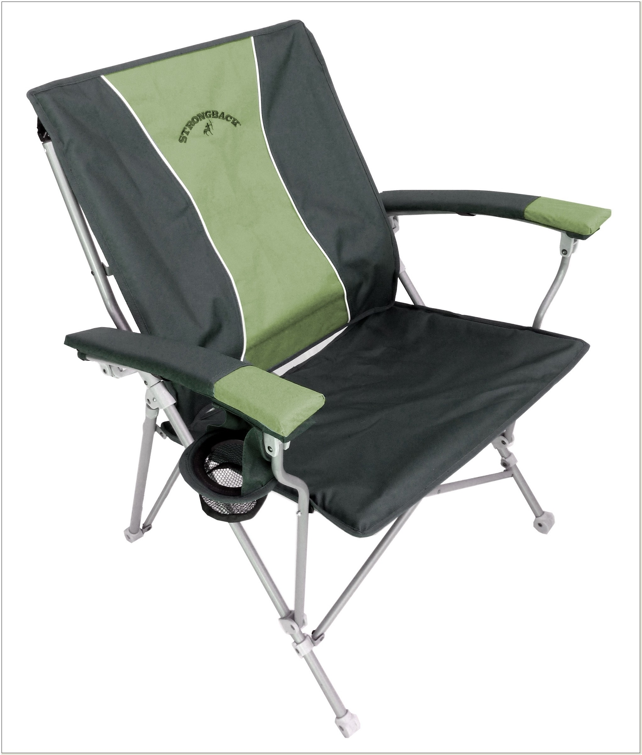 Strongback Elite Heavy Duty Folding Camp Chair