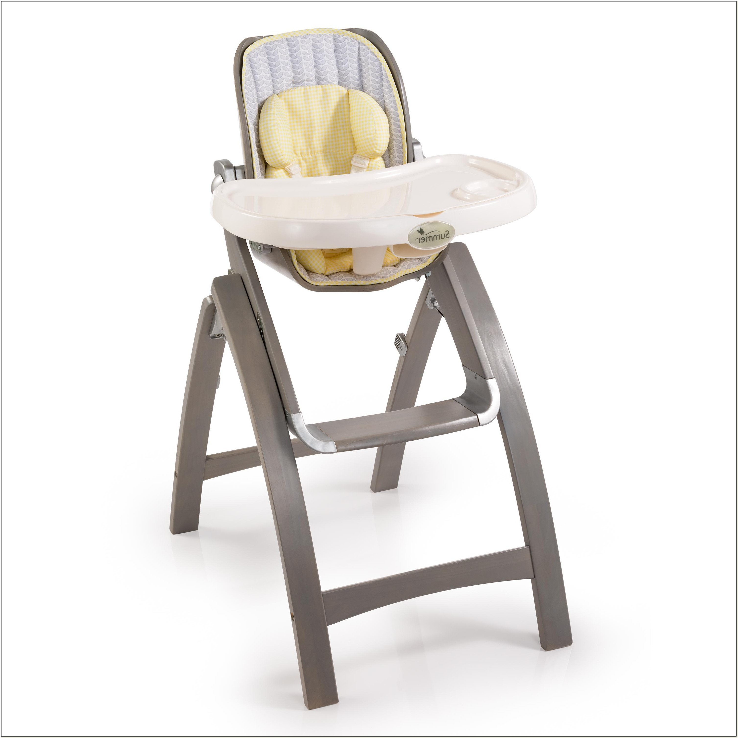 Summer Infant Bentwood High Chair Grey