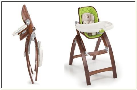 Summer Infant Bentwood High Chair Video