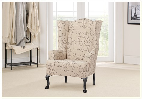 Sure Fit Slipcovers Wing Chair