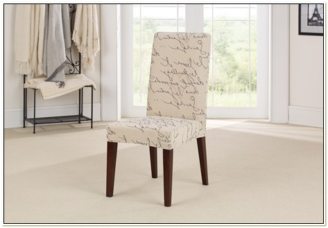 Sure Fit Stretch Short Dining Chair Slipcover