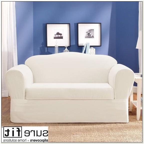 Sure Fit Twill Supreme Separate Sofa Slipcover
