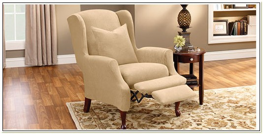 Sure Fit Wing Chair Recliner Covers