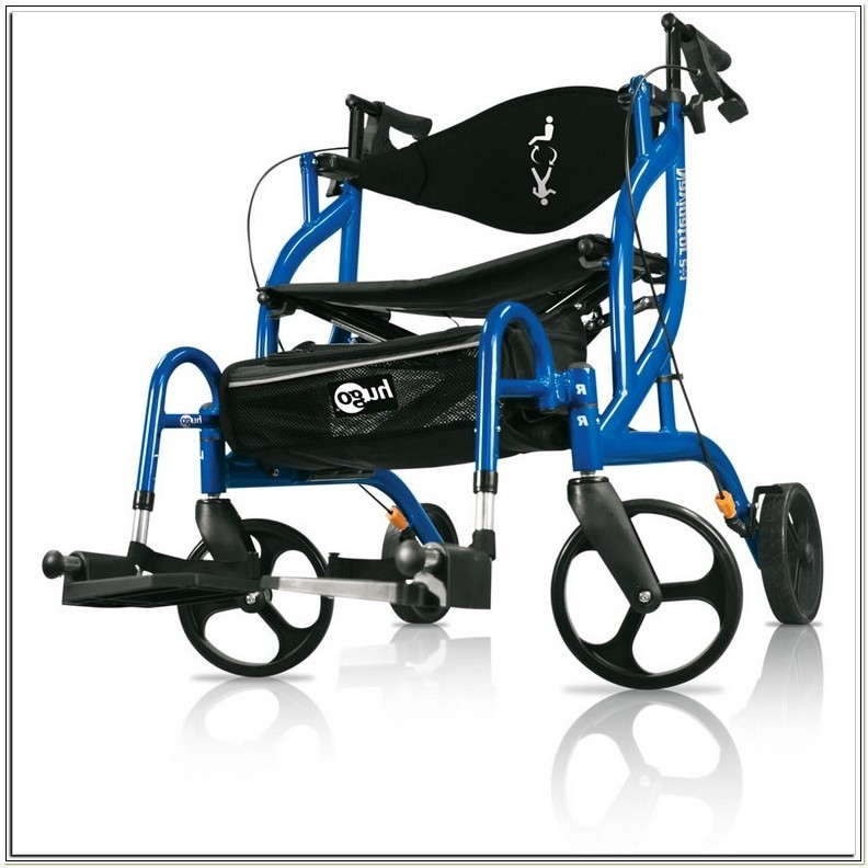 Switch Combo Rollatortransport Chair Pacific Blue