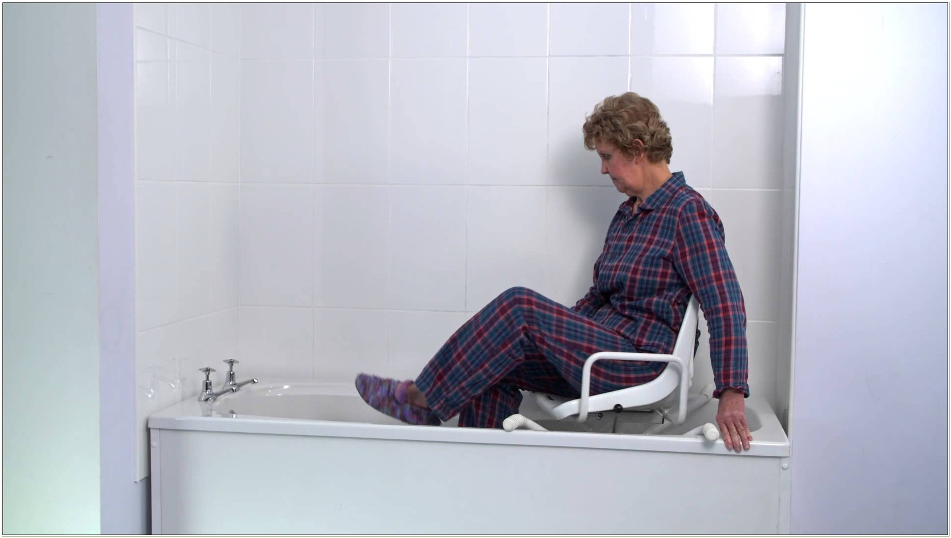 Swivel Bath Chair For Disabled