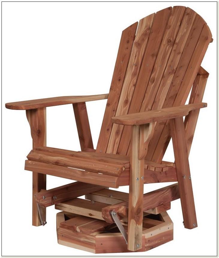 Swivel Glider Adirondack Chair Plans