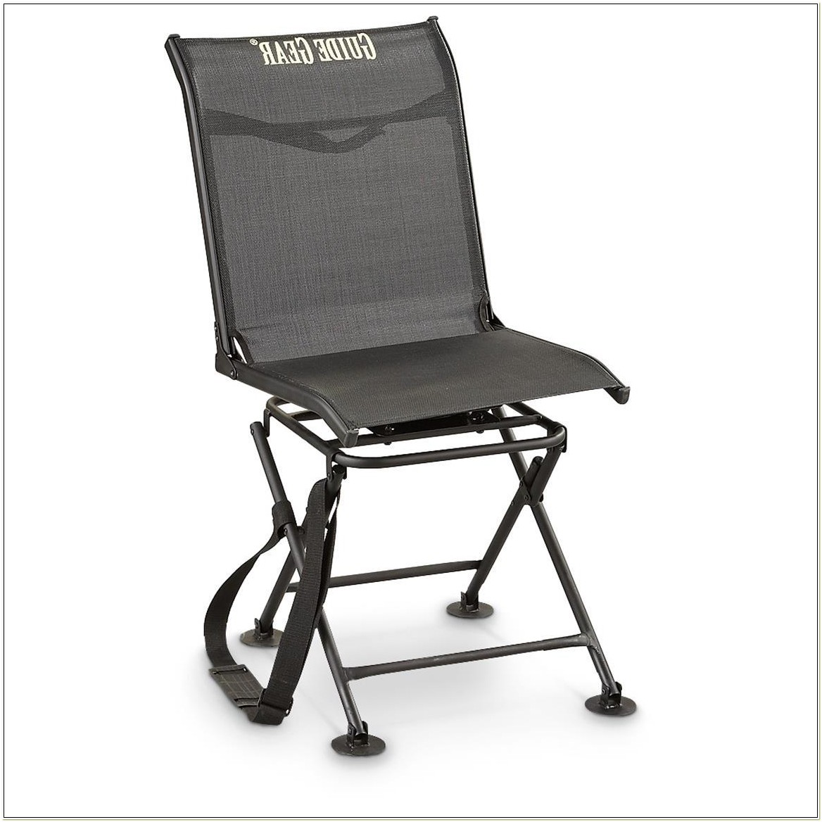 Swivel Hunting Chair For Hunting Blinds