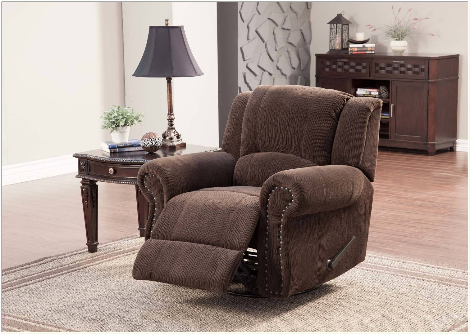 Swivel Rocker Recliner Chair And A Half