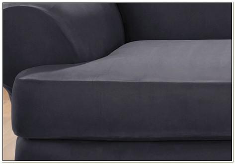 T Cushion Chair Slipcover Gray