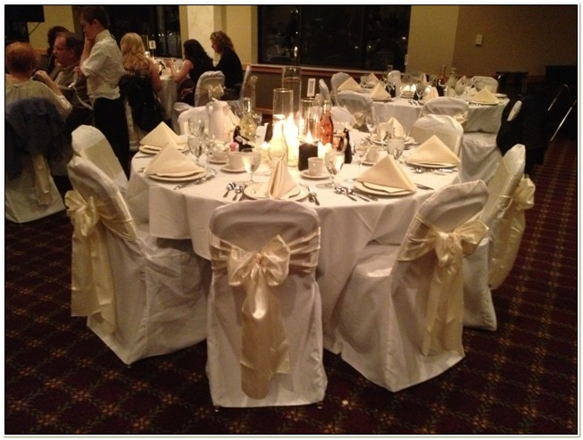 Table Sashes And Chair Covers