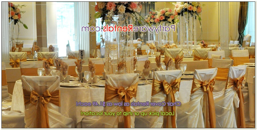 Tablecloths And Chair Covers For Weddings