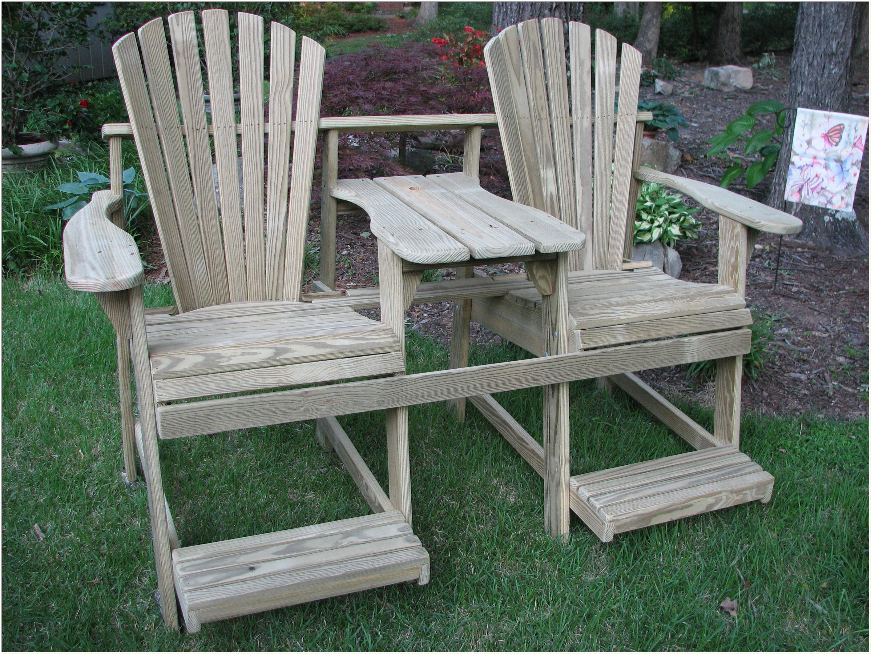 Tall Adirondack Chair Plans