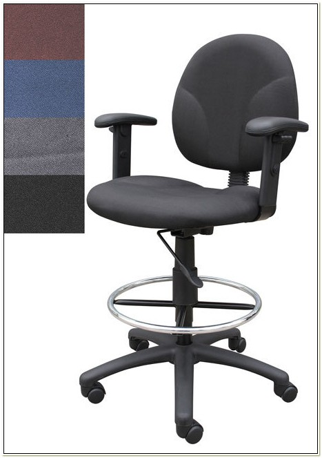 Tall Drafting Chair With Arms