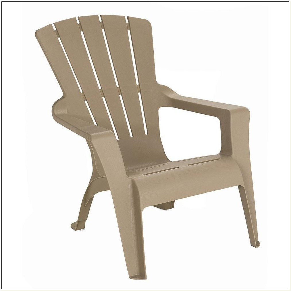 Tan Resin Adirondack Chairs