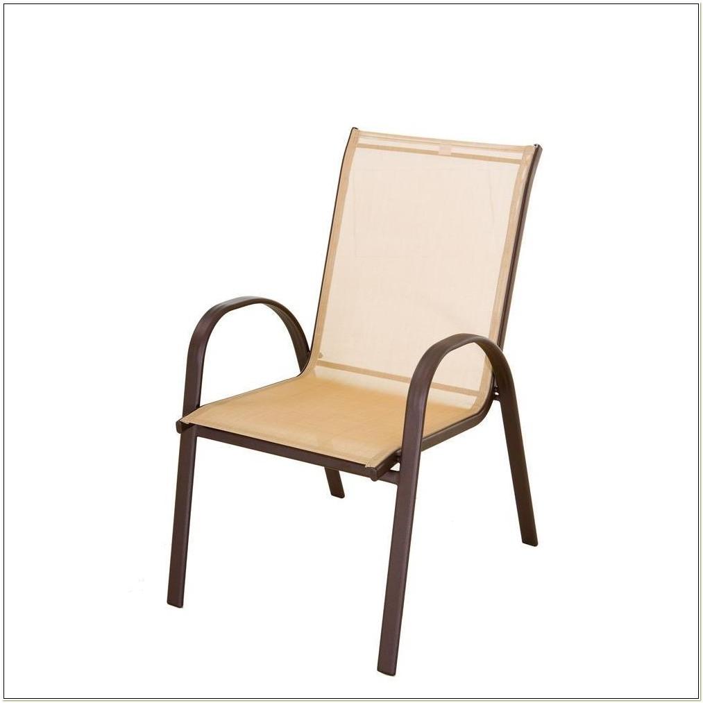 Tan Sling Patio Chair Home Depot
