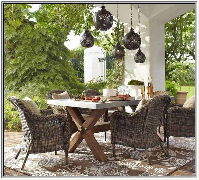 Target Outdoor Wicker Dining Chairs