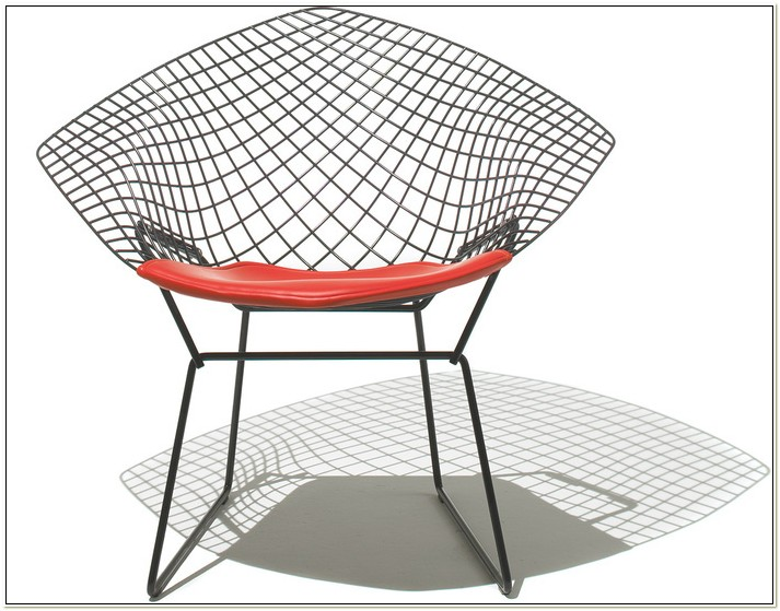 The Diamond Chair Designed By Harry Bertoia