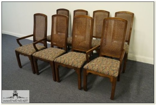 Thomasville Cane Back Dining Room Chairs