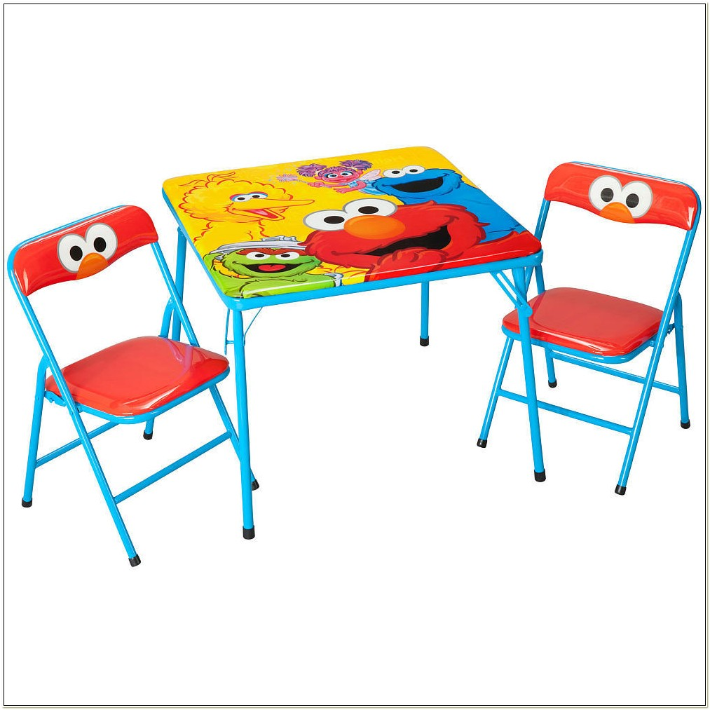 Toddler Folding Table And Chair Set